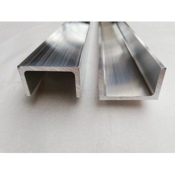 Aluminiowy ceownik 80x40x5...